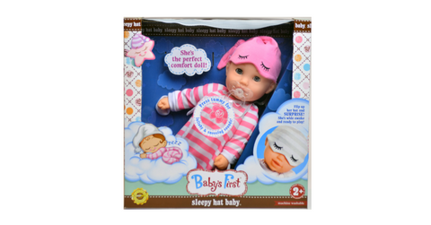 Baby's First Sleepy Hat Doll