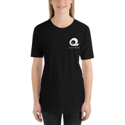 Black t-shirt, Simple minimalist design with high-quality material.