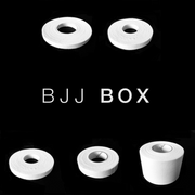 "For the BJJ player who primarily trains in the Gi, the BJJ BOX is the perfect WRAPBOX for you. This WRAPBOX is specially designed to protect your small and medium sized joints, with an additional 1.5"" tape roll to help you protect your larger joints."