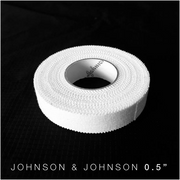 0.5 inch Johnson and Johnson athletic tape for BJJ no Gi