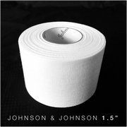 1.5 inch Johnson and Johnson athletic tape for BJJ no Gi