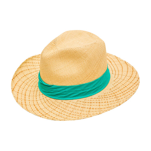 Aqua Band : Straw Fedora