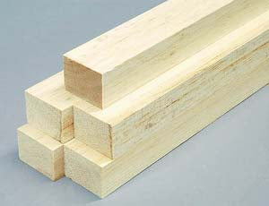 BALSA PLANKS AND BLOCKS