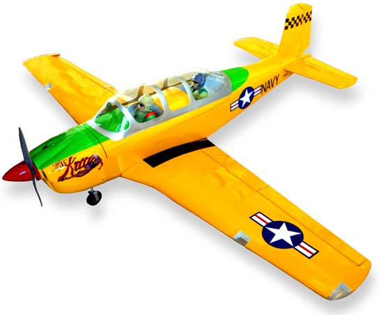 SEAGULL MODELS T-34 MENTOR US NAVY YELLOW - Sig Manufacturing