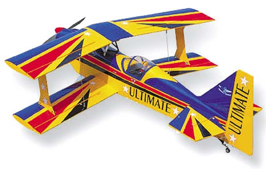 SEAGULL MODEL ULTIMATE BIPLANE
