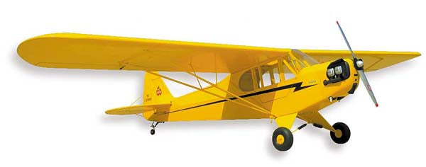 SIG 1/4 SCALE PIPER J-3 CUB KIT PARTS