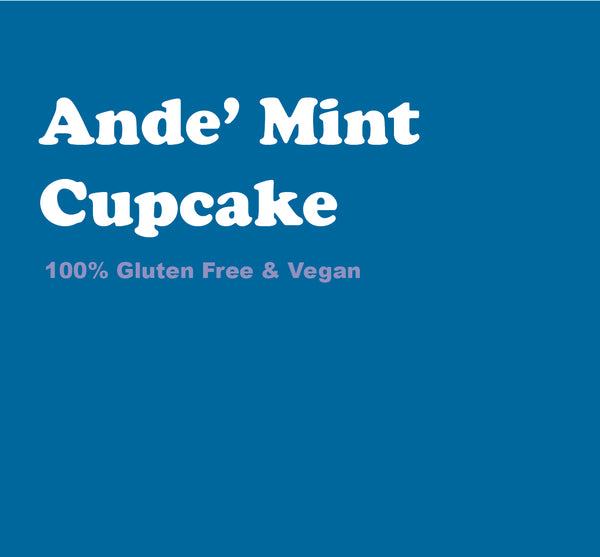 Ande' Mint Cupcake