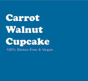 Carrot Walnut Cupcake