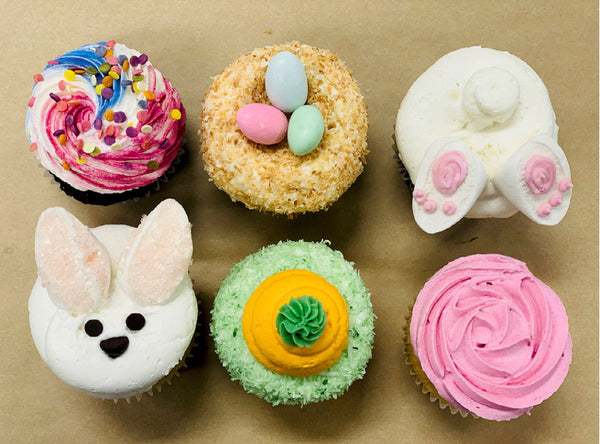 Easter Themed Cupcake Box