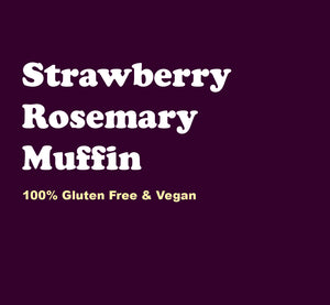 Strawberry Rosemary Muffin