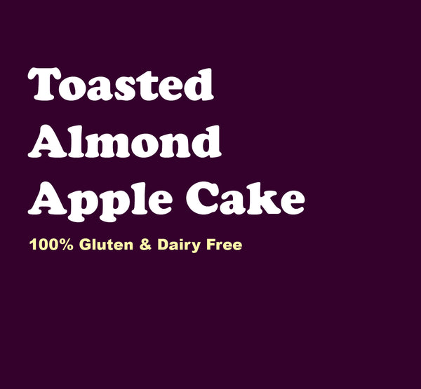Toasted Almond Apple Cake