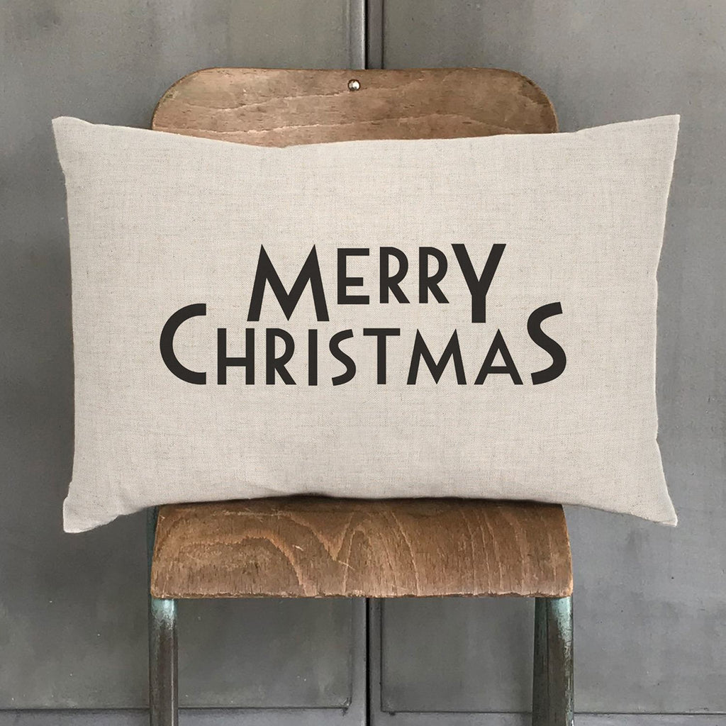 East of India - Merry Christmas Long Cushion