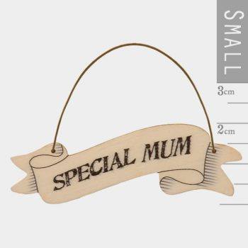 Small Ribbon Words - Mum