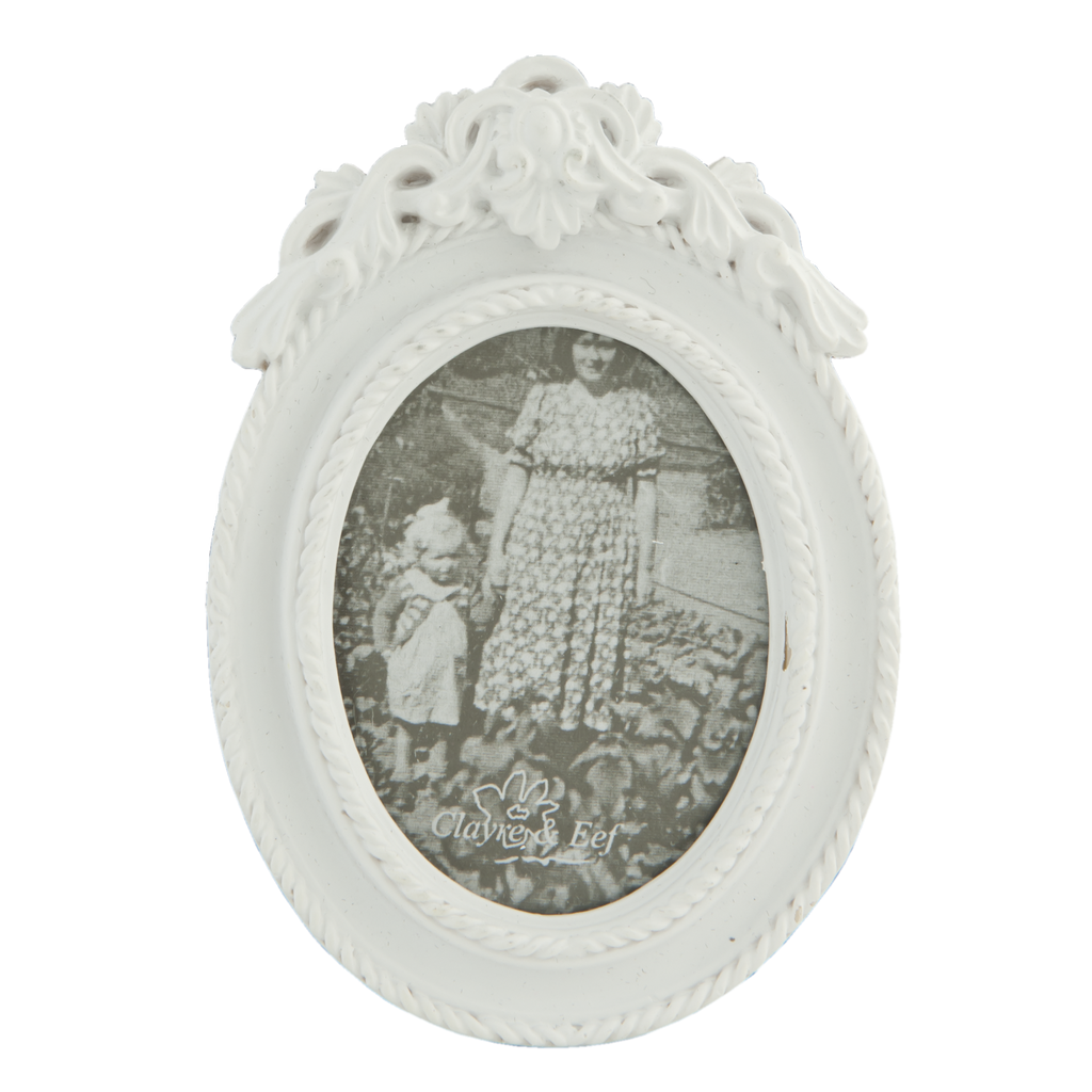 Mini White Ornate Oval Frame – Bumbles Online | Gifts and Homewares ...