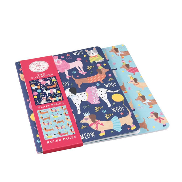 NOTEBOOKS SET OF 2 PETS