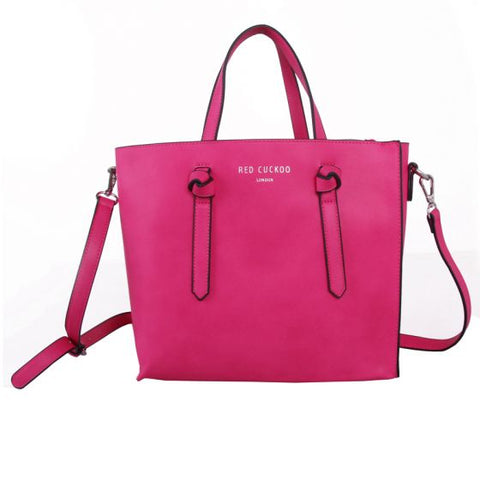 Red Cuckoo Tote Bag - 3 Colours