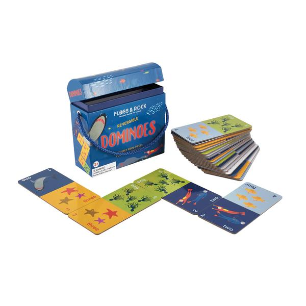 Deep Sea Reversible Dominoes