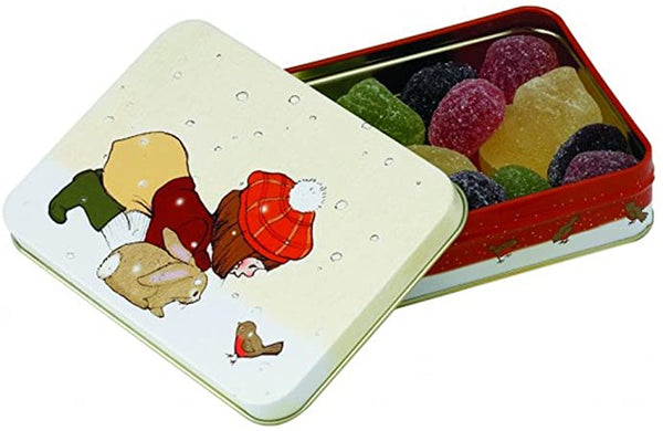 Belle & Boo Children Gift Tin Robin In The Snow