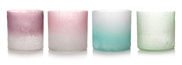 Votive 2 Tone 8cm 4 Colours