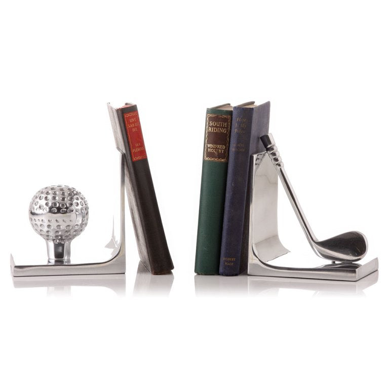 Sports Bookend Golf Silver 25C