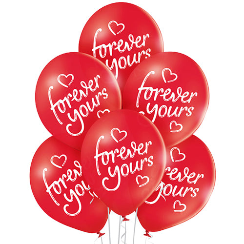 Forever Yours Pack of Balloons x6