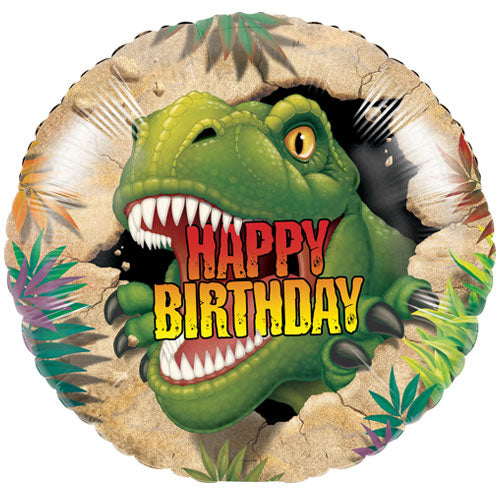Dino Blast Happy Birthday