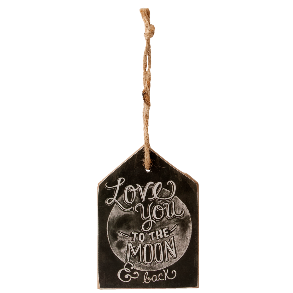 Small Hanging Love Plaque