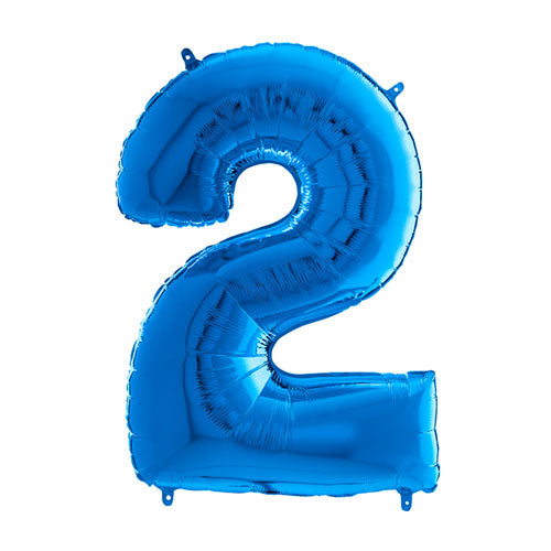 "26"" Helium Filled number balloon (Blue)"