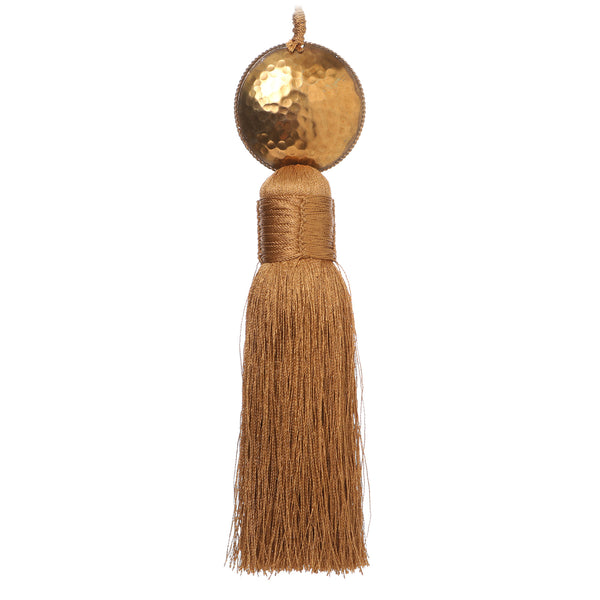 Gold Curtain Tassel 19cm