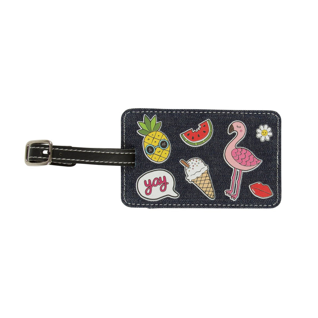 Patches & Pins Luggage tag
