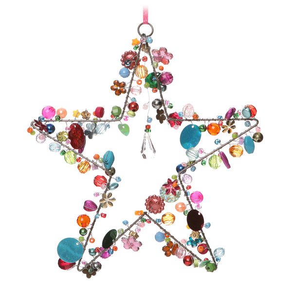 Bead Star Dec Multi 17Cm