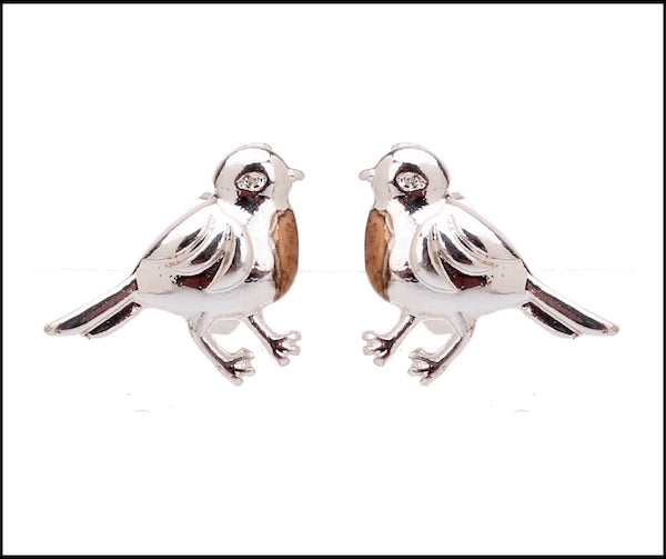 Robin Bird Studs Earrings