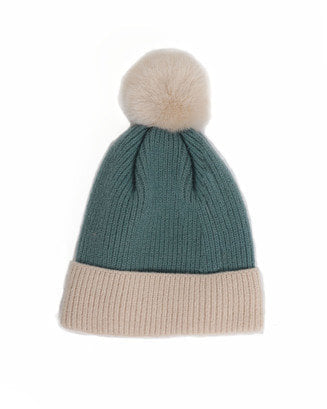Bonnie Pom Pom Hat - 2 Colours