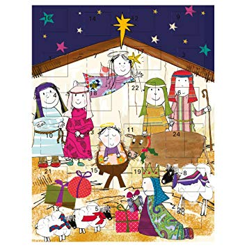 Caroline Gardener Nativity Advent Calender