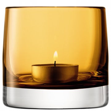 LSA Light Colour Tealight Holder H8.5cm