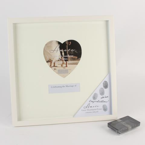 Wedding Guest Thumb Print Frame
