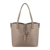 Rose Gold Leather reversible tote bag