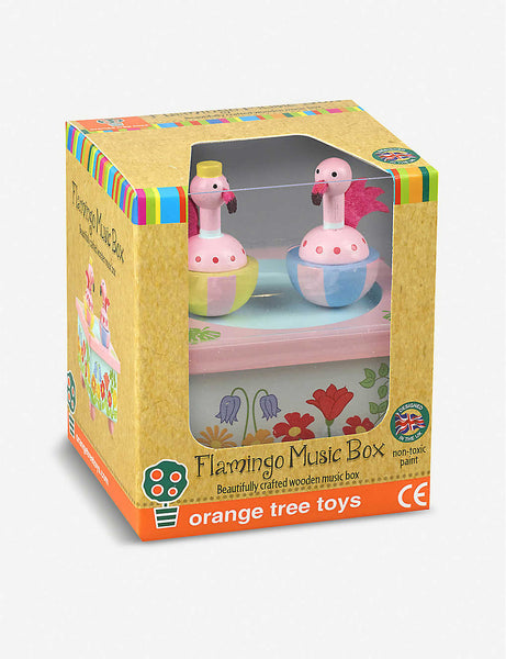 Flamingo Music Box