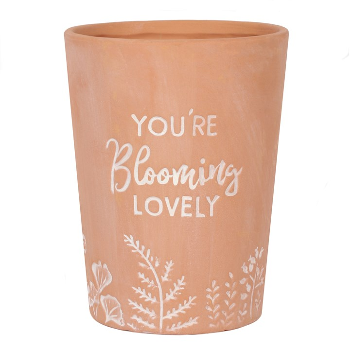 Blooming Lovely Plant Pot