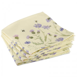 Bee & Flower Napkin