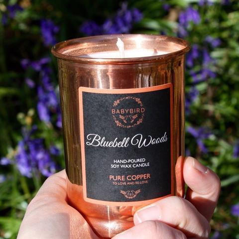 Bluebelle Woods Pure Copper Candle