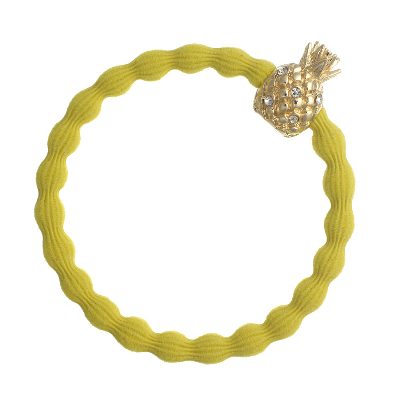 Bangle Band Bling Pineapple Yellow