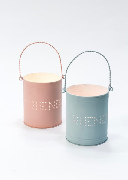 Metal Tea light holder - Friends