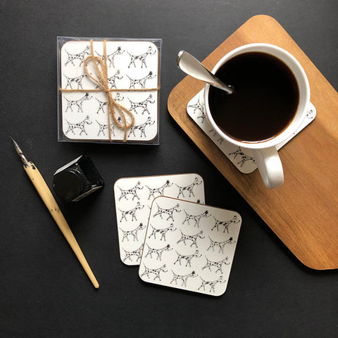 Set of 4 Dalmation Coasters