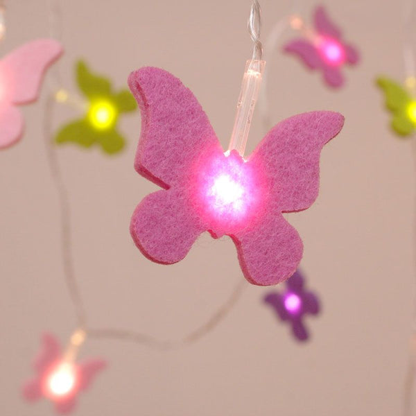 Felt Butterfly Lights