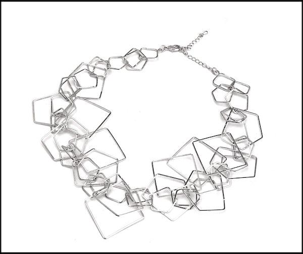 Square Loops Necklace