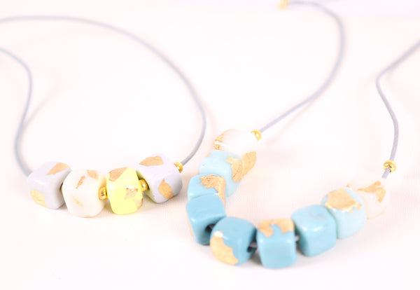 Sugar Cube Necklace