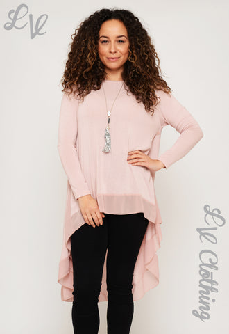 Long Sleeved Floaty Top