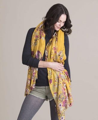 Powder Forest Hare Print Scarf