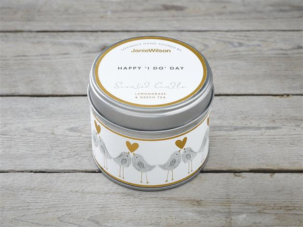Happy 'I Do' Day-Lemongrass & Green Tea Candle
